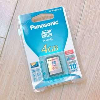 Panasonic SDHC Memory Card