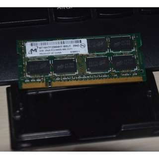 Micron 2gb Pc2-6400 Ddr2-800 800mhz Laptop Memory RAM