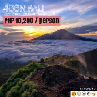 4D3N BALI Tour Package