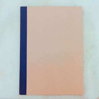 無印良品 A5 30頁橫條筆記本