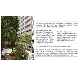 Good Location!! No neighbors view!! 5Room SengKang Corner unit for Sale