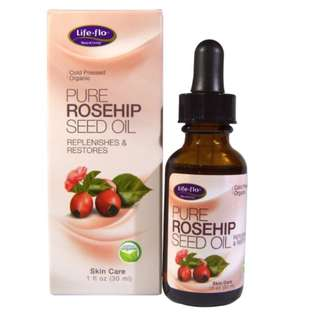 [PO] Life Flo Health, Pure Rosehip Seed Oil, Skin Care, 1 oz (30 ml)