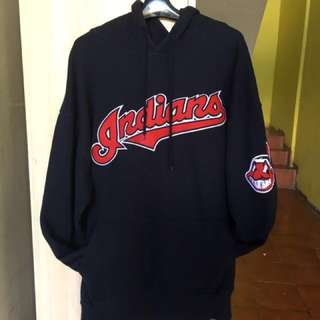 INDIANS Hoddie Navy Blue Original Import Size XL