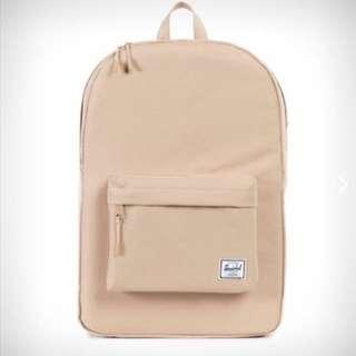 Herschel Beige Backpack