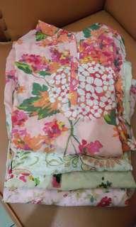 Top/blouse katun japan 4 pcs only 120rb