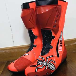 Motorcycle leather boots UK9