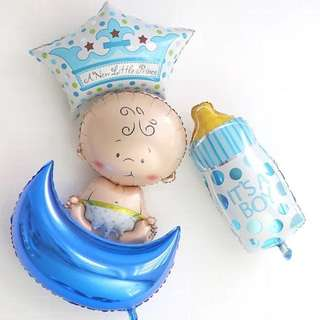 Welcome Baby Balloon Set – It's a Boy / Girl