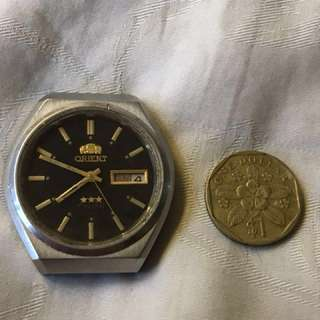 Vintage Orient 3 Star Crystal Automatic