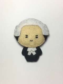 (Sold) Mr Lee Kuan Yew felt doll