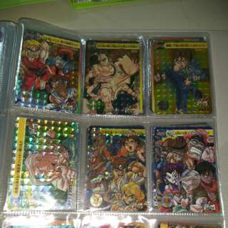 Street fighter card set