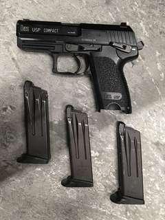 KSC USP compact 手槍 airsoft handgun