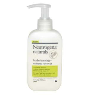 Neutrogena naturals, Fresh Cleansing + Makeup Remover, 6 fl oz (177 ml)