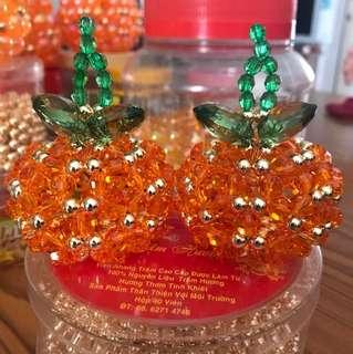 Handmade orange 100% handmade