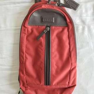 Coach crossover/ sling unisex bag (original)