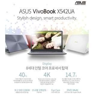 ASUS Vivobook X542UA - i5 Intel HD 620 4GB RAM 128GB SSD