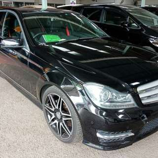 MERCEDES BENZ C180 AMG SPORT PLUS