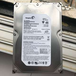 IDE硬碟320GB Seagate 100% Work 95%新淨 Harddisk