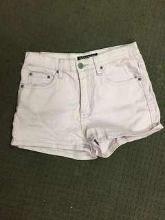 Purple Ziggy Denim shorts