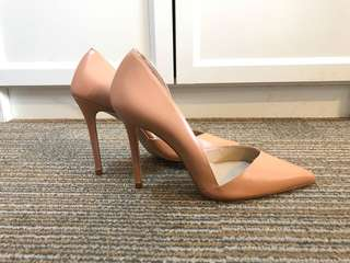 Zara Nude high heels