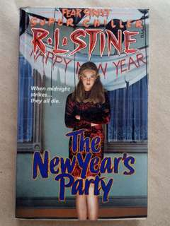 R.L. Stine: The New Year's Party