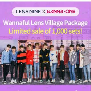 [Pre-Order] LENS NINE X Wanna One Wannaful Village Package