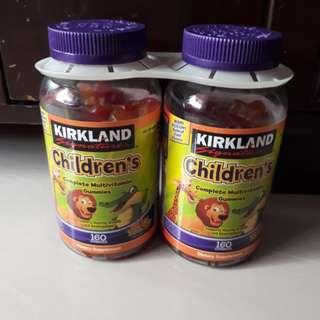 Vitamin anak KIRKLAND beli di USA