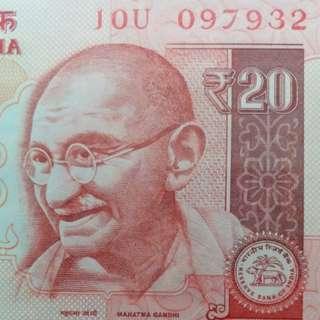 2015年 亞洲 印度盧比 097932 全新直版