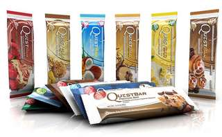 Assorted quest bars. Good for trying!
