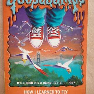 R.L. Stine: Goosebumps: How I Learned to Fly