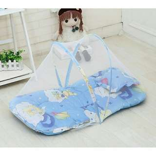 Baby Anti Mosquito Net Sleeping Cushion