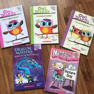 Scholastic Books for Early Readers