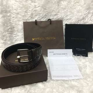 Authentic Bottega Veneta Belt black