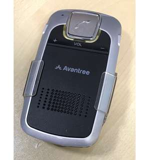 Avantree Bluetooth Car Kit with Solar Charger, Wireless Handsfree Visor Speakerphone