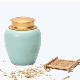 Chinese porcelain tea set teacup teapot caddy