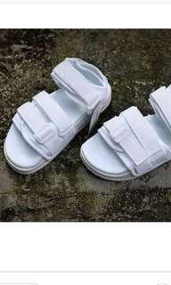 Adidas sandals white color summer