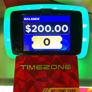 TimeZone Card For $150