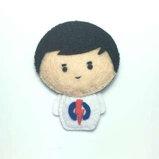 Offer!! Handmade PAP felt doll