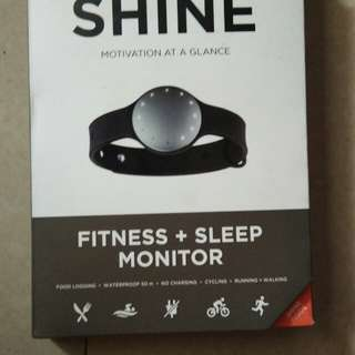 SHINe misfit fitness+ sleep monitor