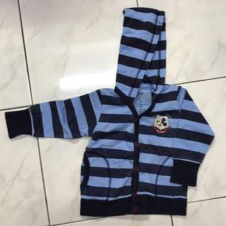 Hooded Jacket for Baby Boy 6-12mths