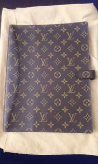 Louis Vuitton Monogram A4 Notebook cover