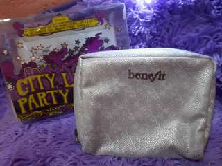 Authentic Benefit Make Up Pouch