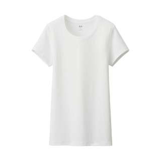 BNWOT Uniqlo Women Supima Cotton Modal Crew Neck Short Sleeve T