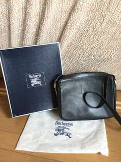 authentic burberry sling bag