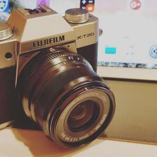 Fujifilm X-T20 + 23mm f/2 Lens ( SUPER MULUS !! 99% LIKE NEW )