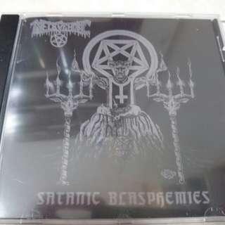 Necrophobic - Satanic Blasphemies