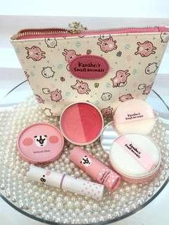 卡納赫拉kanaheis粉紅兔p助彩妝組化妝品set套裝