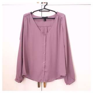 Forever 21: Formal chiffon blouse