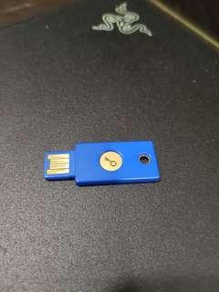 yubiko security 2fa key