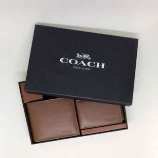 Coach wallet & card holder