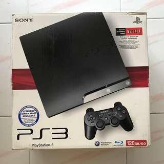 PS3 Slim JAILBREAK, Black 120GB